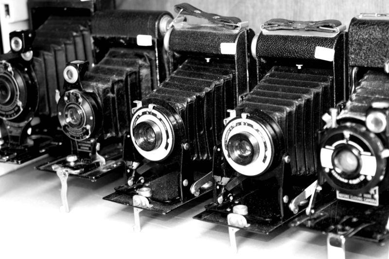 Bigstockphoto_Old_Cameras_1311558